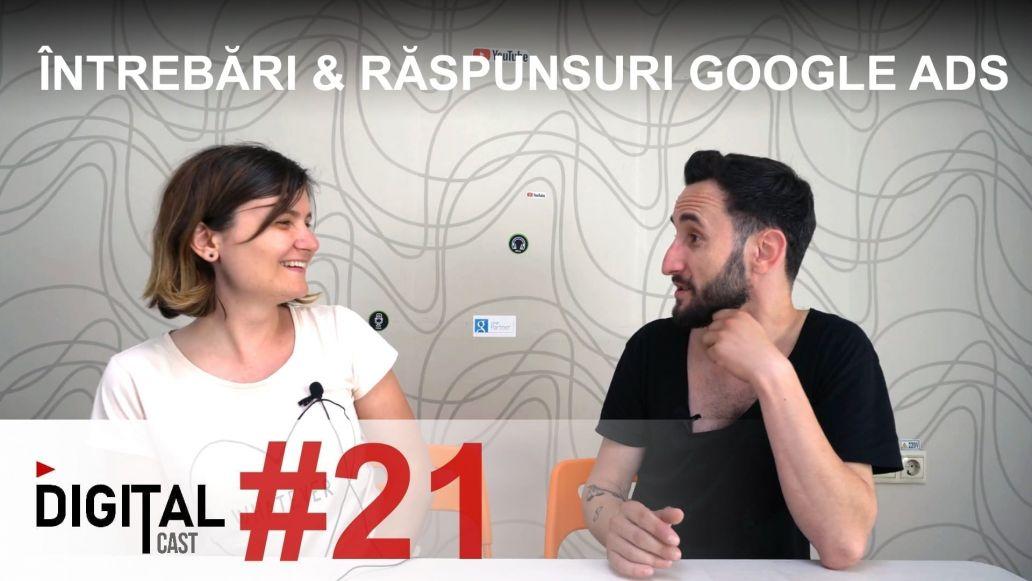 Întrebări si Răspunsuri despre Google Ads Search