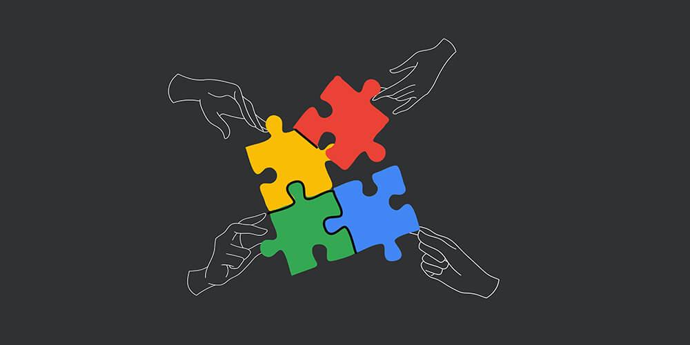 Google colors Puzzle